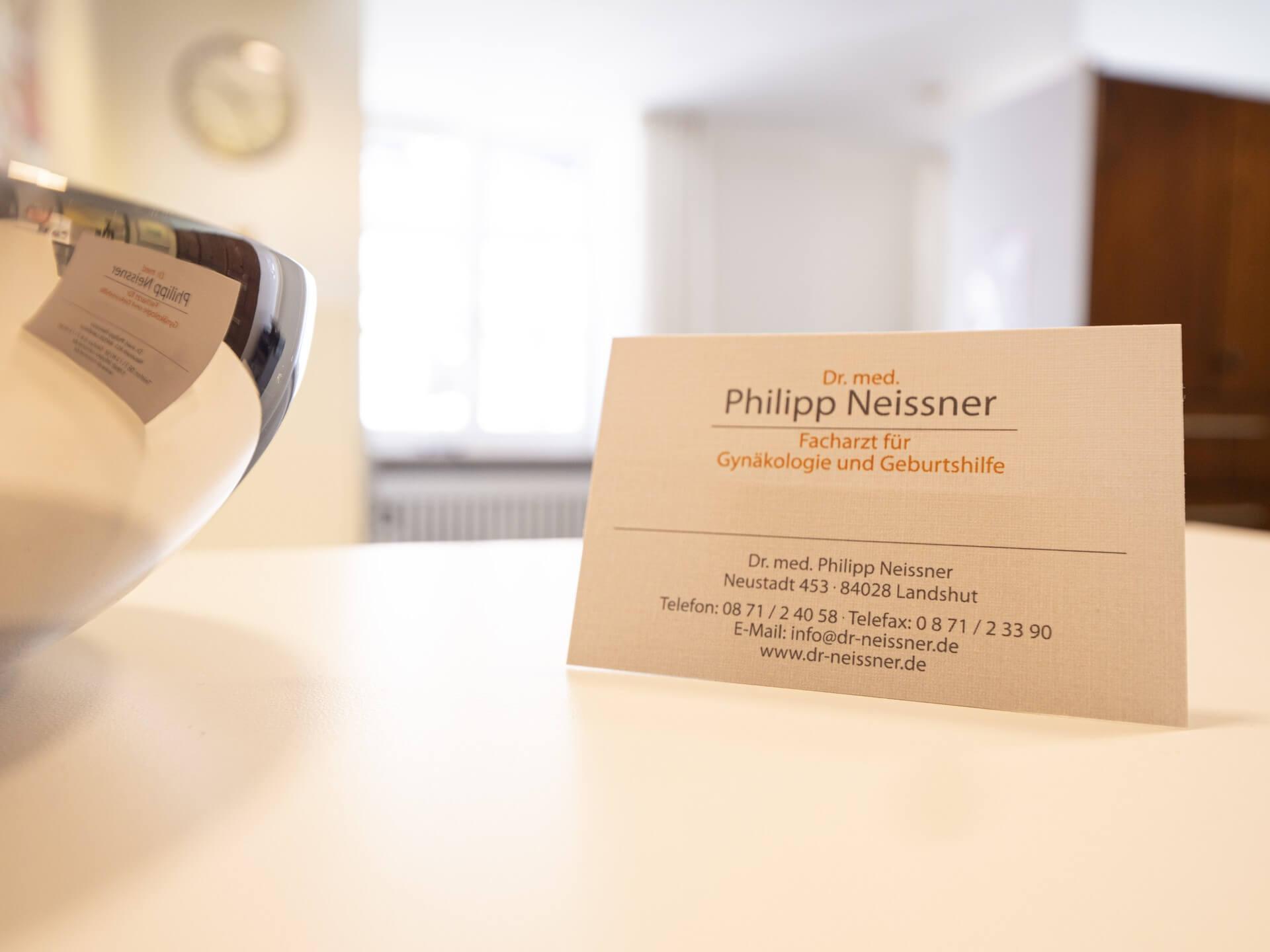 Dr. Phillip Neissner - Praxis für Frauenheilkunde